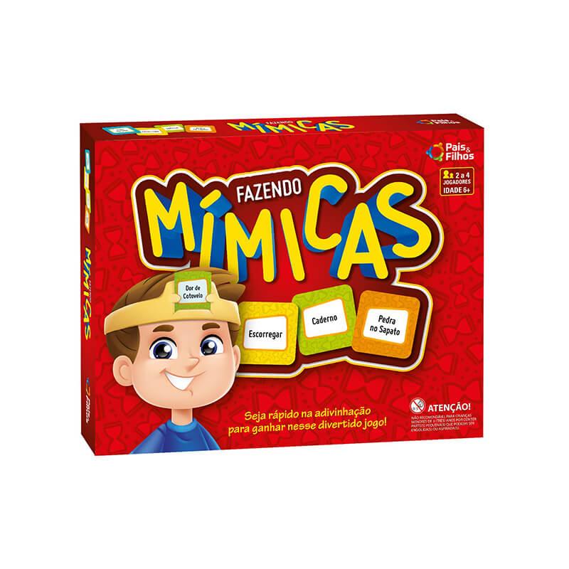 Jogo Fazendo Mímicas | Pais & Filhos