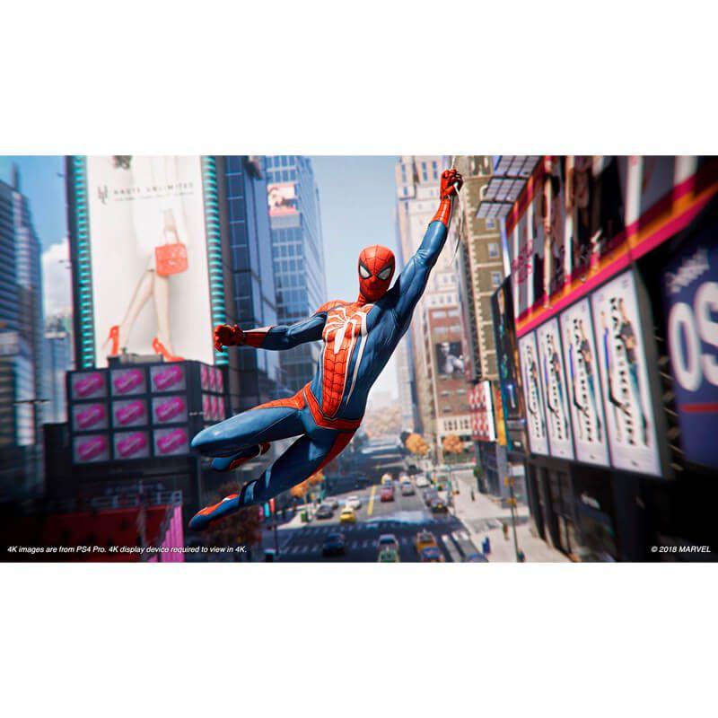 Jogo Marvel's Spider-Man (Edição Jogo do Ano) - PS4