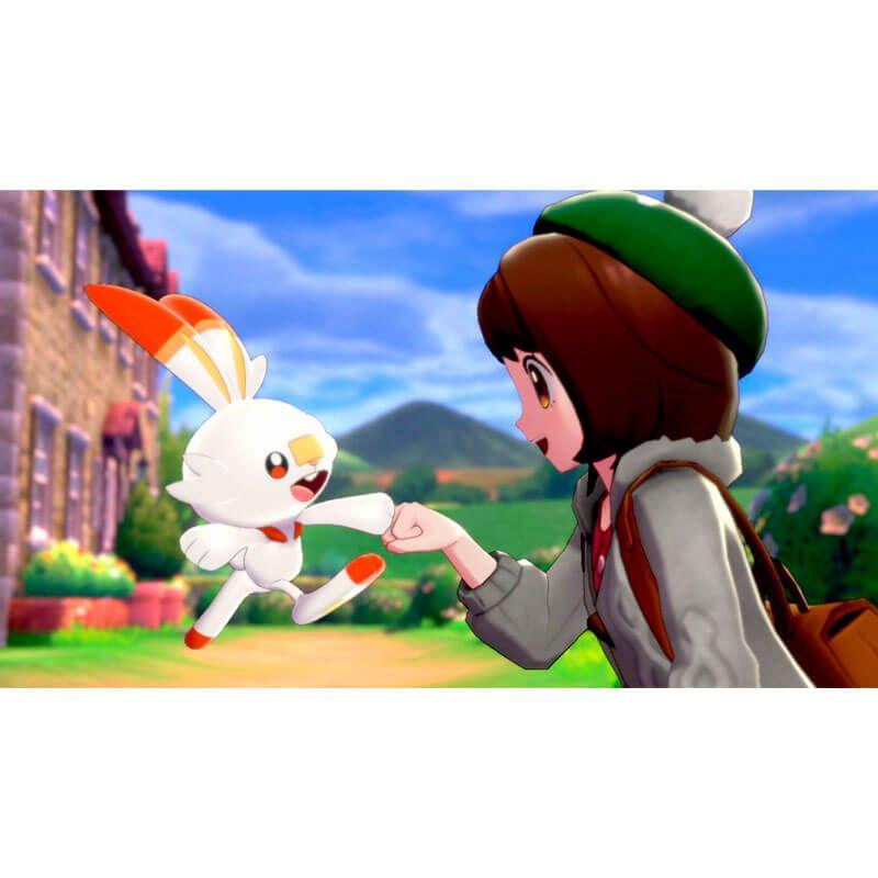 Jogo Pokémon Sword - Nintendo Switch