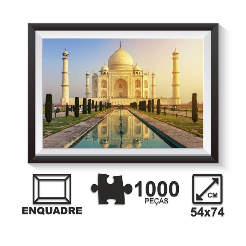 Jogo Quebra-Cabeça: Taj Mahal - 1000 Peças | Pais & Filhos