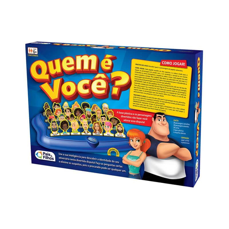 Jogo Quem É Você? | Pais & Filhos