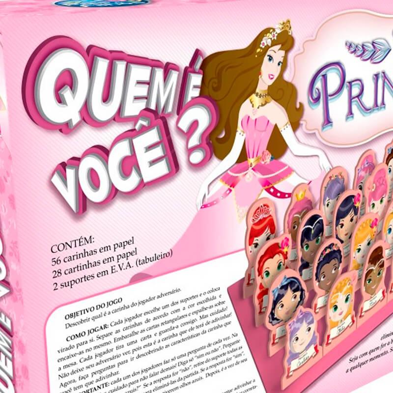 Jogo Quem É Você? - Princesas | Pais & Filhos
