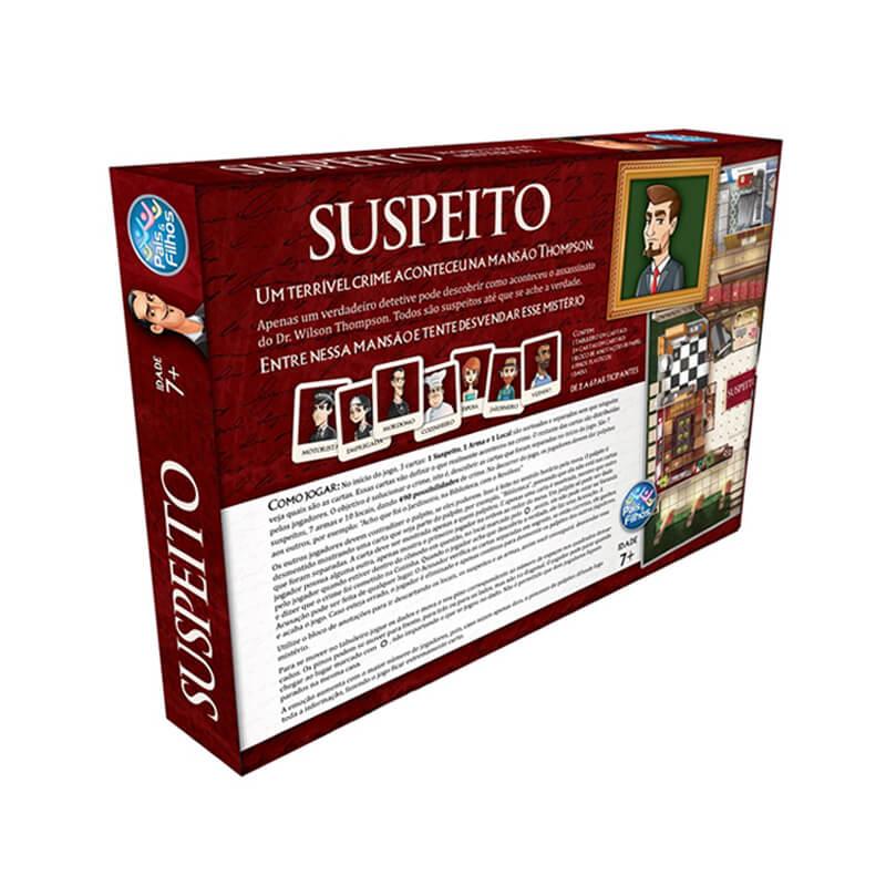 Jogo Suspeito | Pais & Filhos