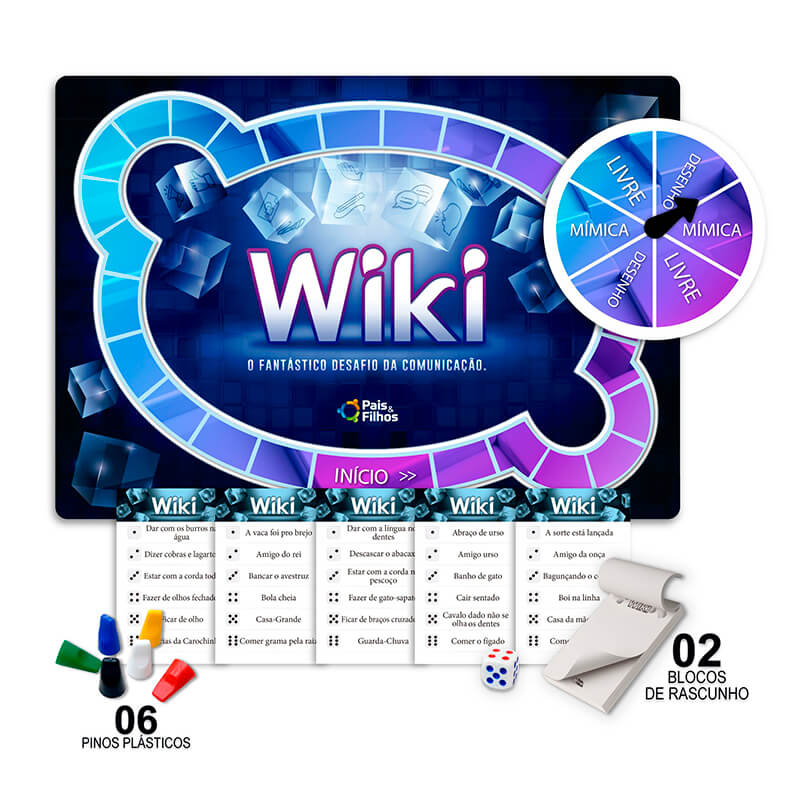 Jogo Wiki | Pais & Filhos
