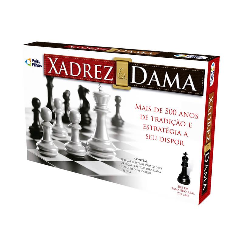 Jogo Xadrez & Dama | Pais & Filhos