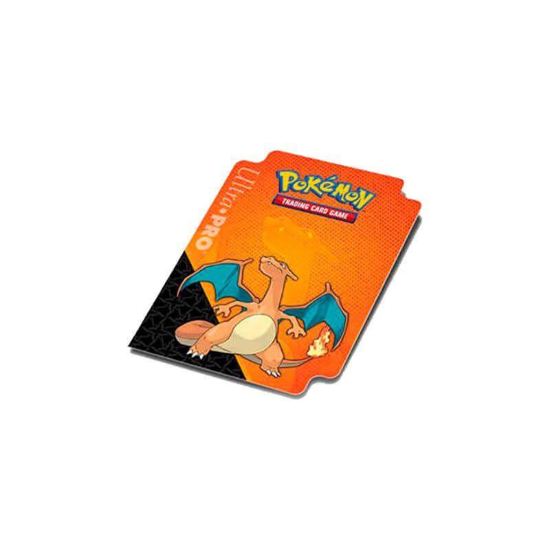 Kit Pasta + Sleeve + Deck Box Oficial Ultra Pro - Pokémon TCG: Charizard