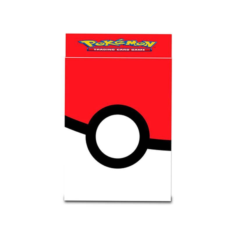 Kit Pasta + Sleeve + Deck Box Oficial Ultra Pro - Pokémon TCG: Poké Ball
