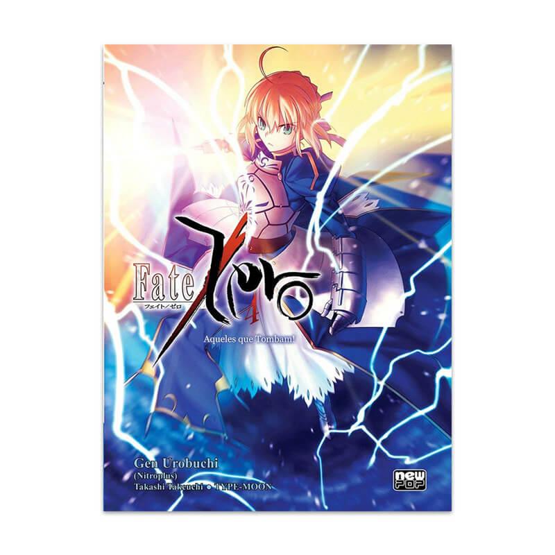 Livro Fate/Zero: Aqueles que Tombam! - Livro 04