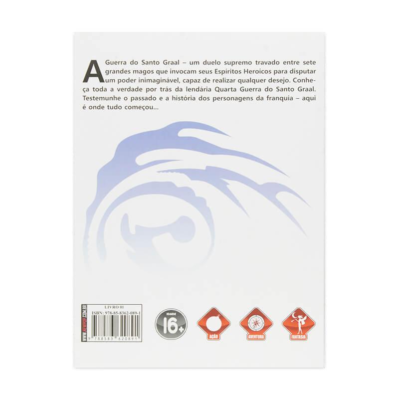 Livro Fate/Zero: Histórias Não Contadas da Quarta Guerra do Santo Graal - Livro 01