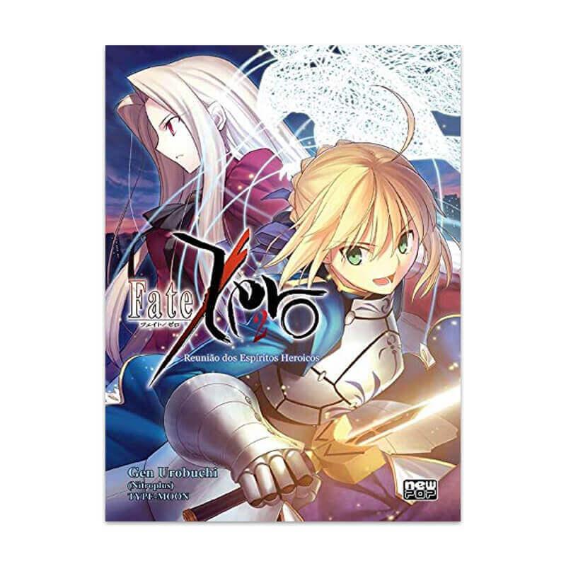 Livro Fate/Zero: Reunião dos Espíritos Heroicos - Livro 02