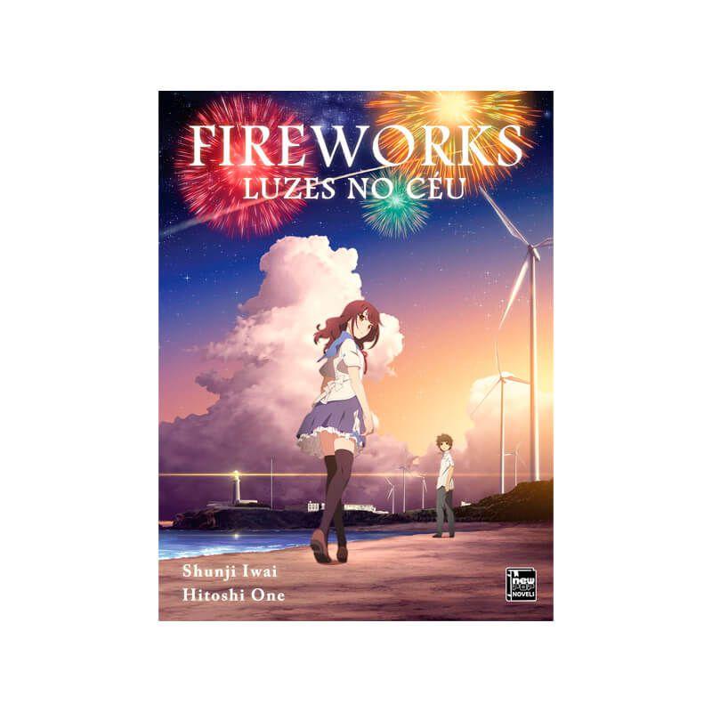 Livro Fireworks: Luzes no Céu