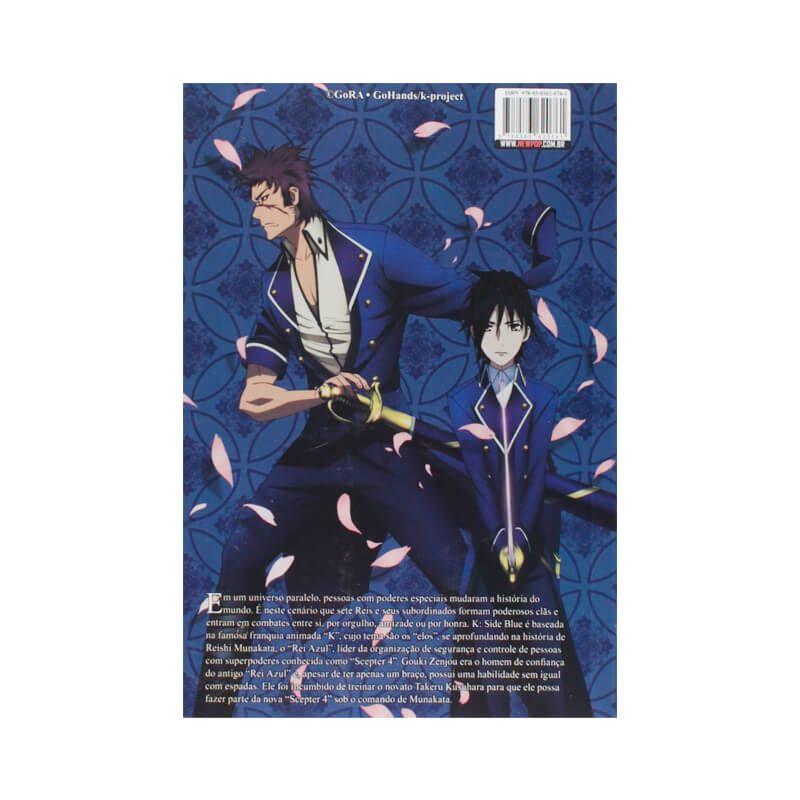 Livro K-Side: Blue