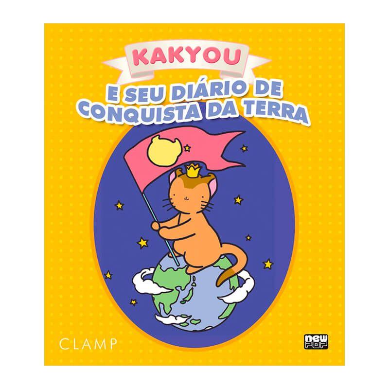 Livro Kakyou e Seu Diário de Conquista da Terra