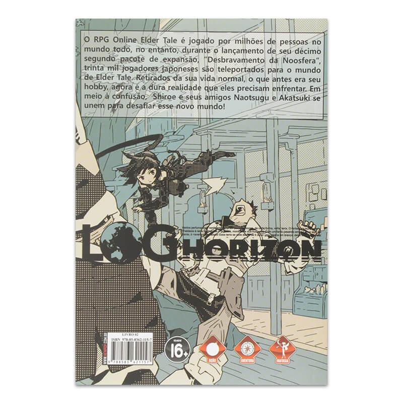 Livro Log Horizon: Cavaleiros de Camelot - Livro 02