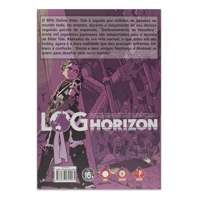 Livro Log Horizon: Fim do Jogo (Parte 1) - Livro 03