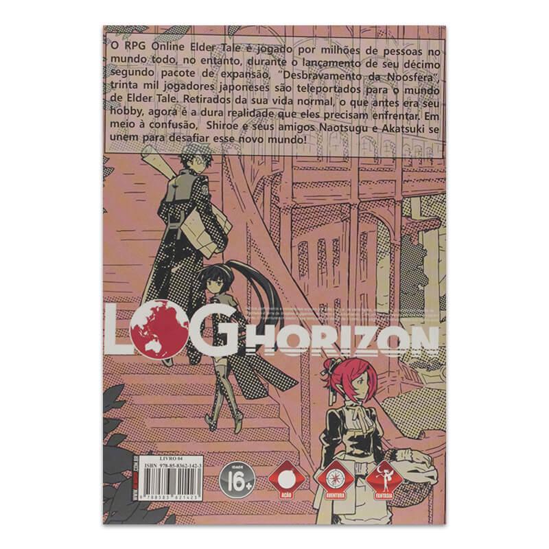 Livro Log Horizon: Fim do Jogo (Parte 2) - Livro 04