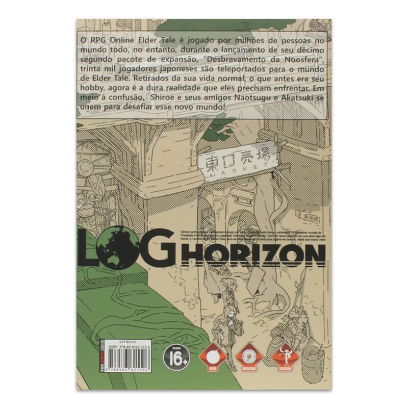 Livro Log Horizon: O Início de Um Outro Mundo - Livro 01