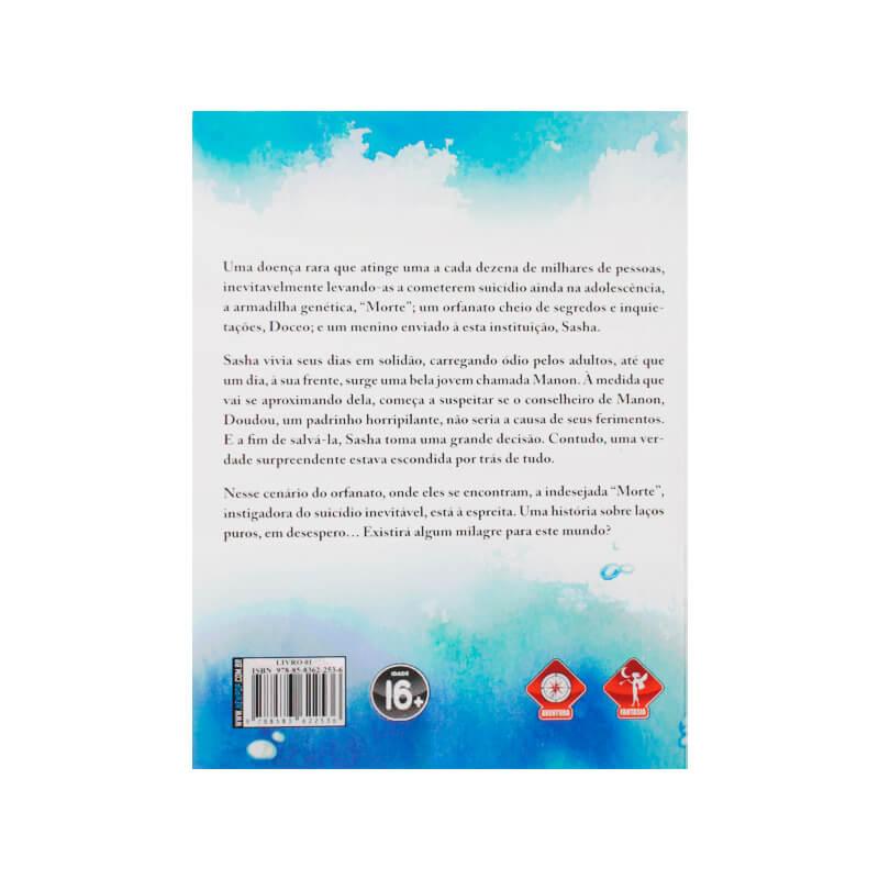 Livro Morte: A Garota do Funeral Marítimo - Livro 01