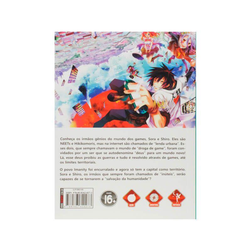 Livro No Game No Life - Livro 01