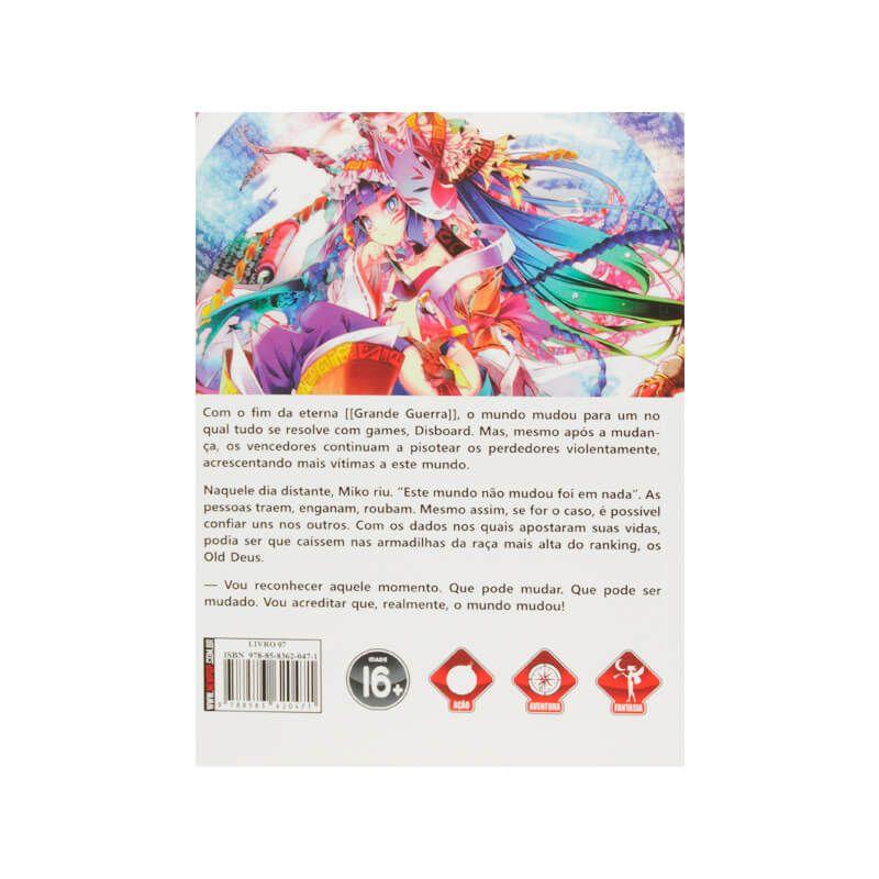 Livro No Game No Life - Livro 07
