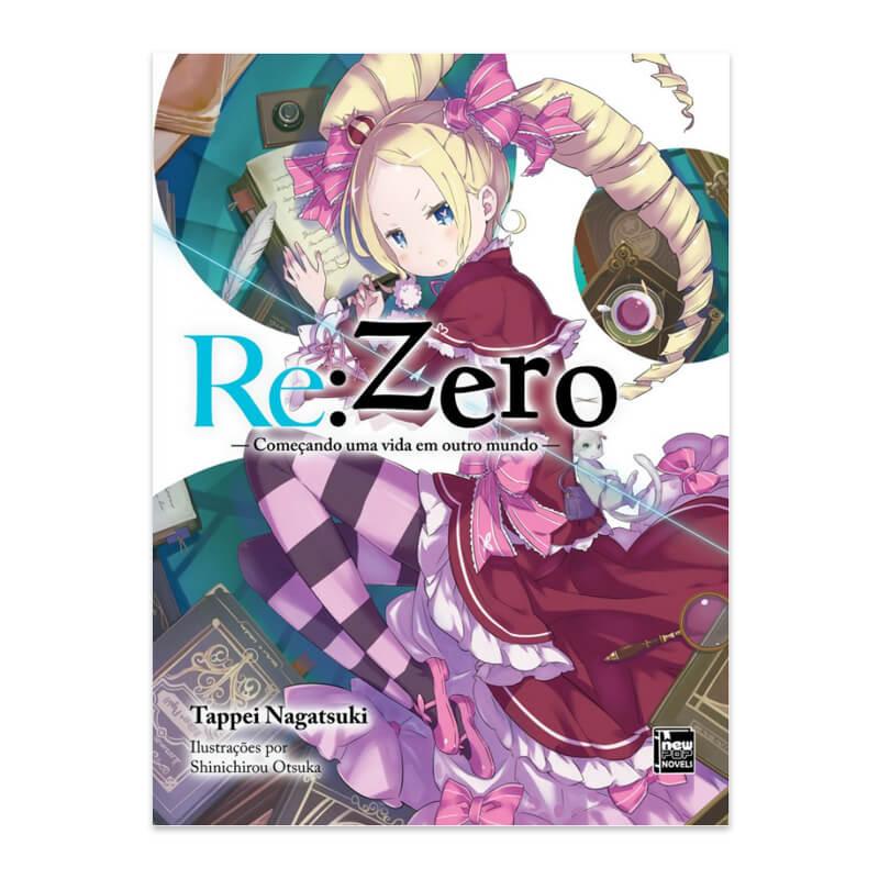 Livro Re:Zero: Começando uma Vida em Outro Mundo - Livro 03