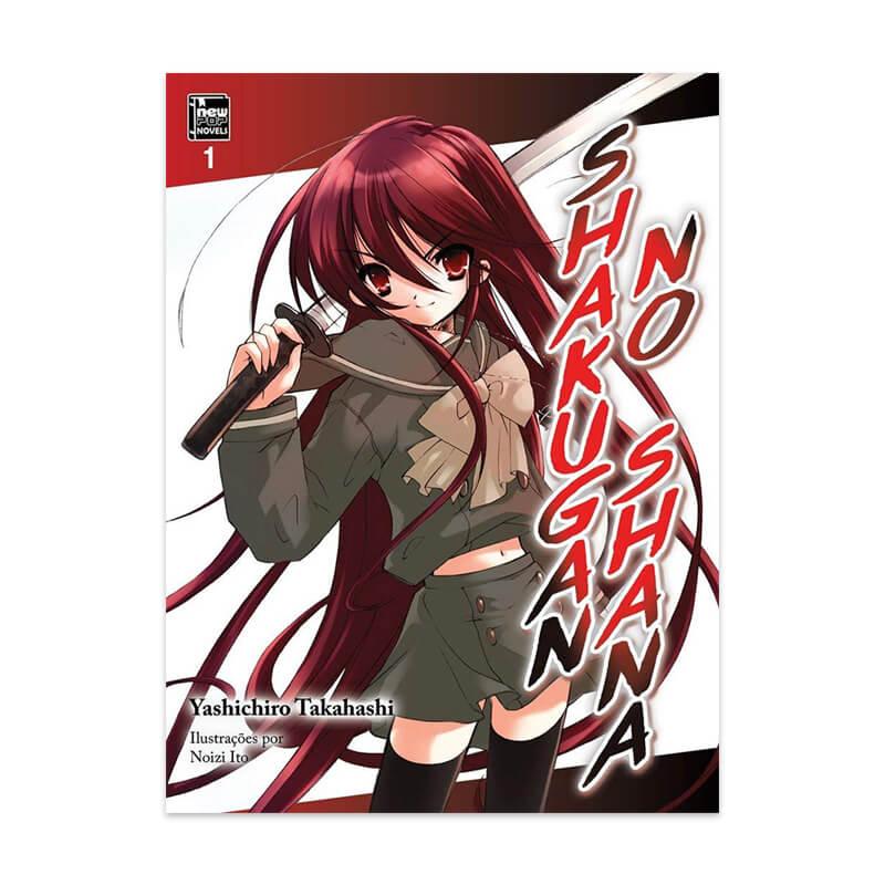 Livro Shakugan  no Shana - Livro 01
