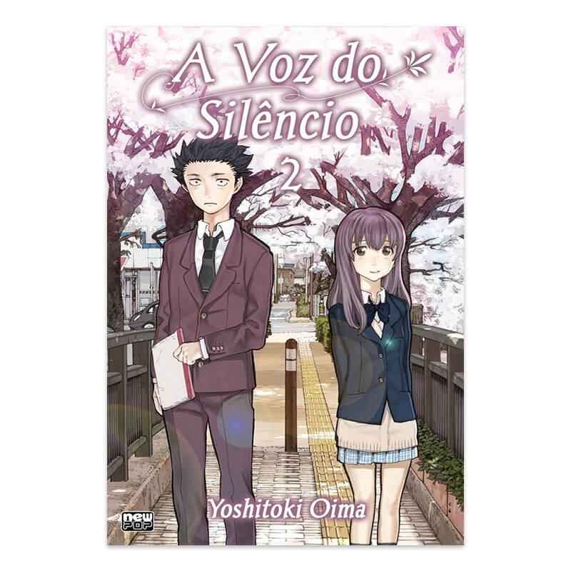 Mangá A Voz do Silêncio - Volume 02