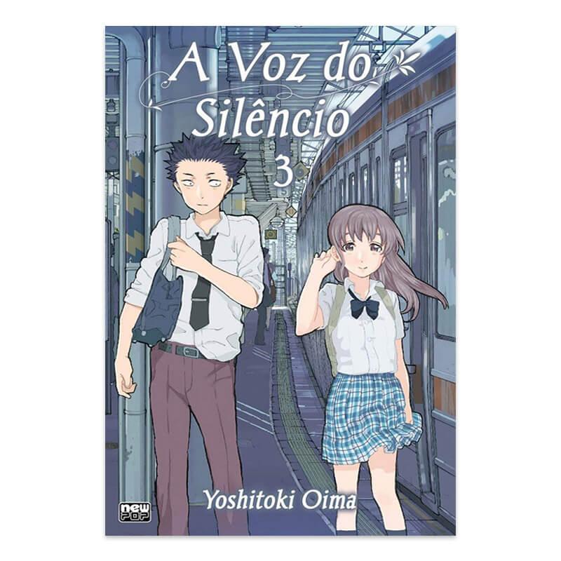 Mangá A Voz do Silêncio - Volume 03