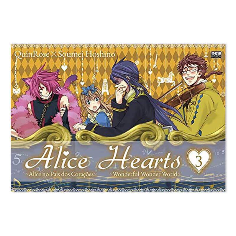 Mangá Alice Hearts - Volume 03