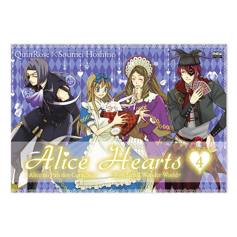Mangá Alice Hearts - Volume 04