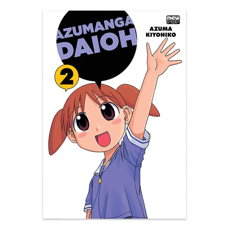 Mangá Azumanga Daioh - Volume 02