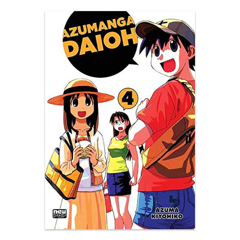 Mangá Azumanga Daioh - Volume 04