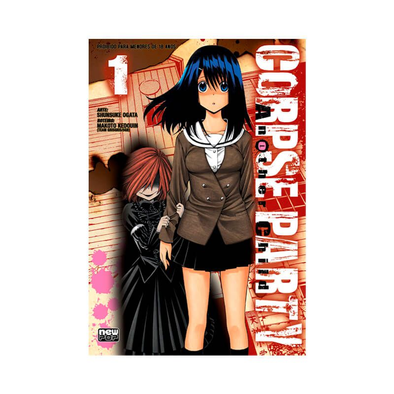Mangá Corpse Party: Another Child - Volume 1, 2 e 3