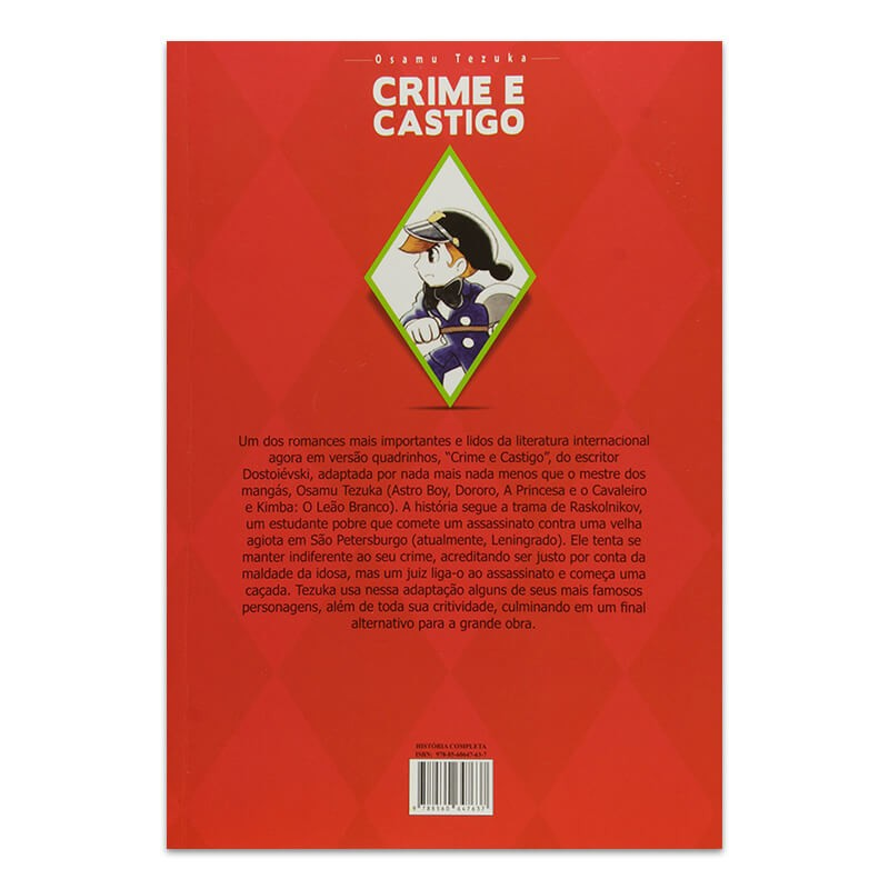 Mangá Crime e Castigo