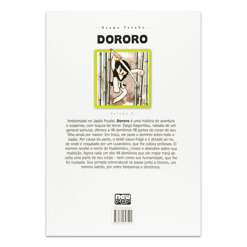 Mangá Dororo - Volume 04