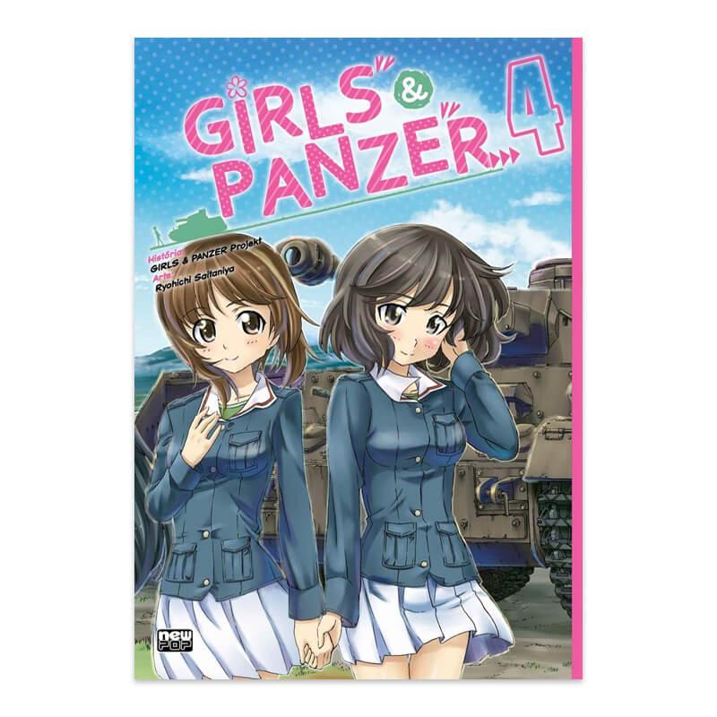 Mangá Girls & Panzer - Volume 04