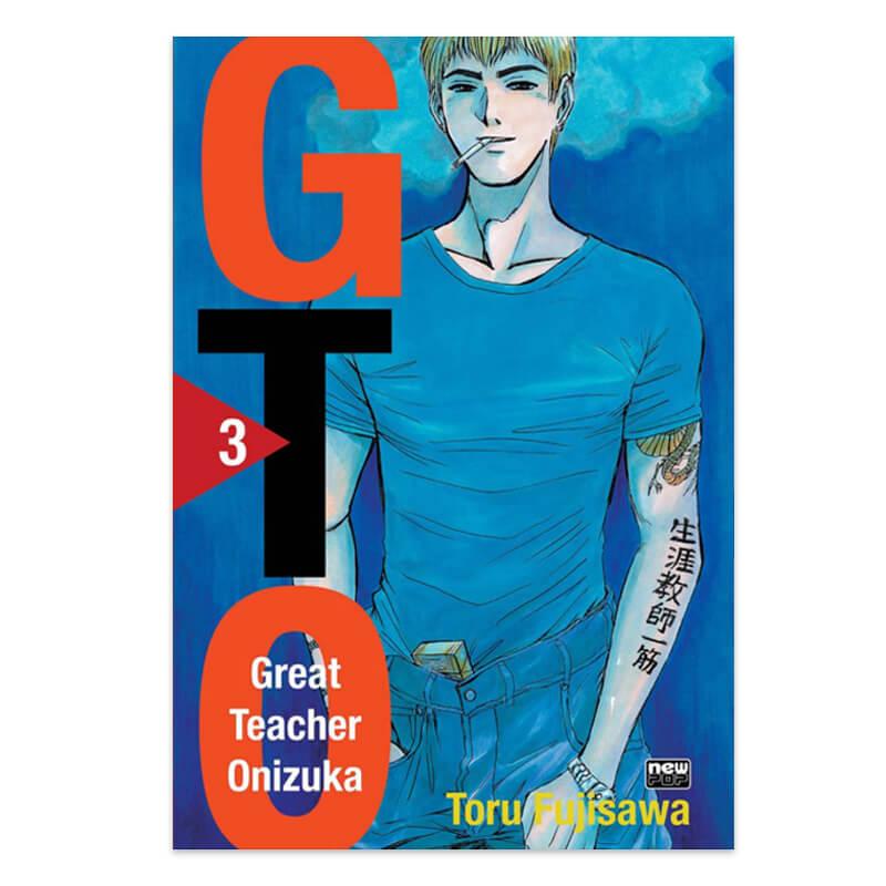 Mangá GTO - Volume 03