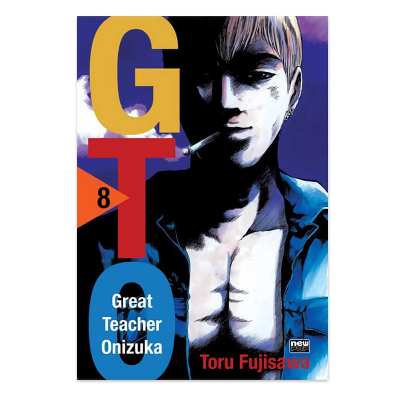 Mangá GTO - Volume 08