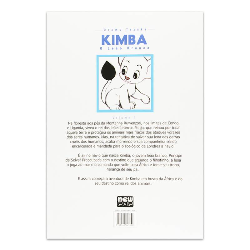 Mangá Kimba: O Leão Branco - Volume 01
