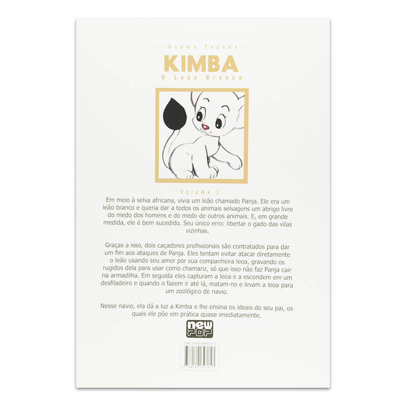 Mangá Kimba: O Leão Branco - Volume 02