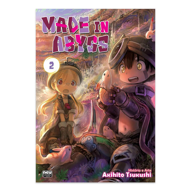 Mangá Made in Abyss - Volume 02