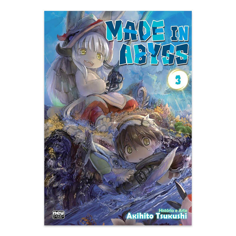 Mangá Made in Abyss - Volume 03