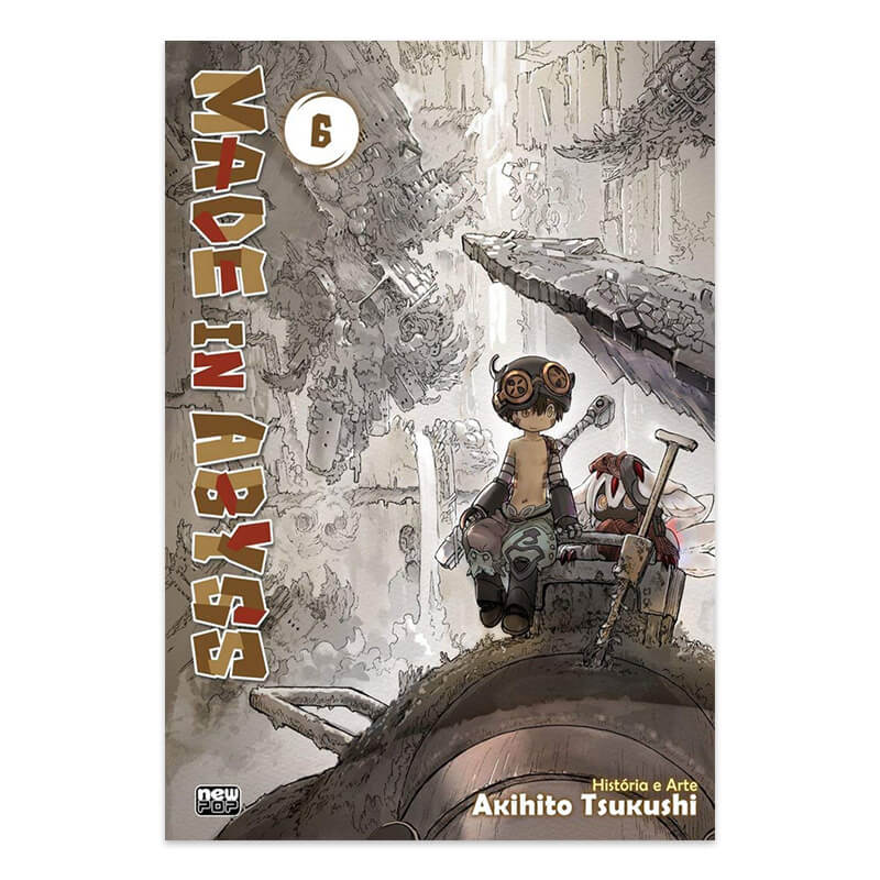 Mangá Made in Abyss - Volume 06