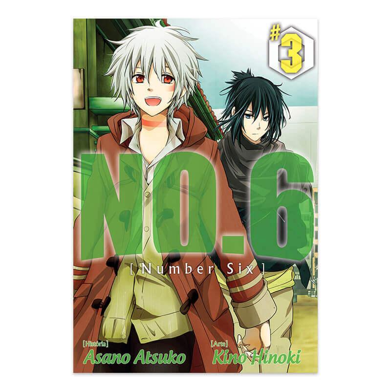 Mangá NO.6 - Volume 03