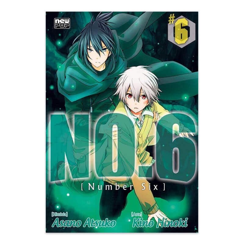 Mangá NO.6 - Volume 06