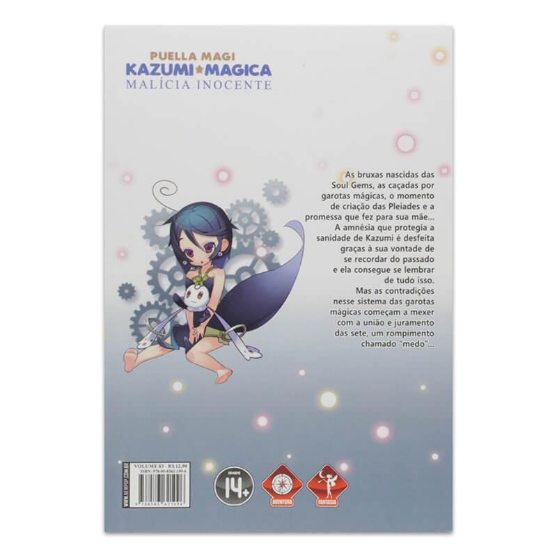 Mangá Puella Magi Kazumi Magica: Malícia Inocente - Volume 03