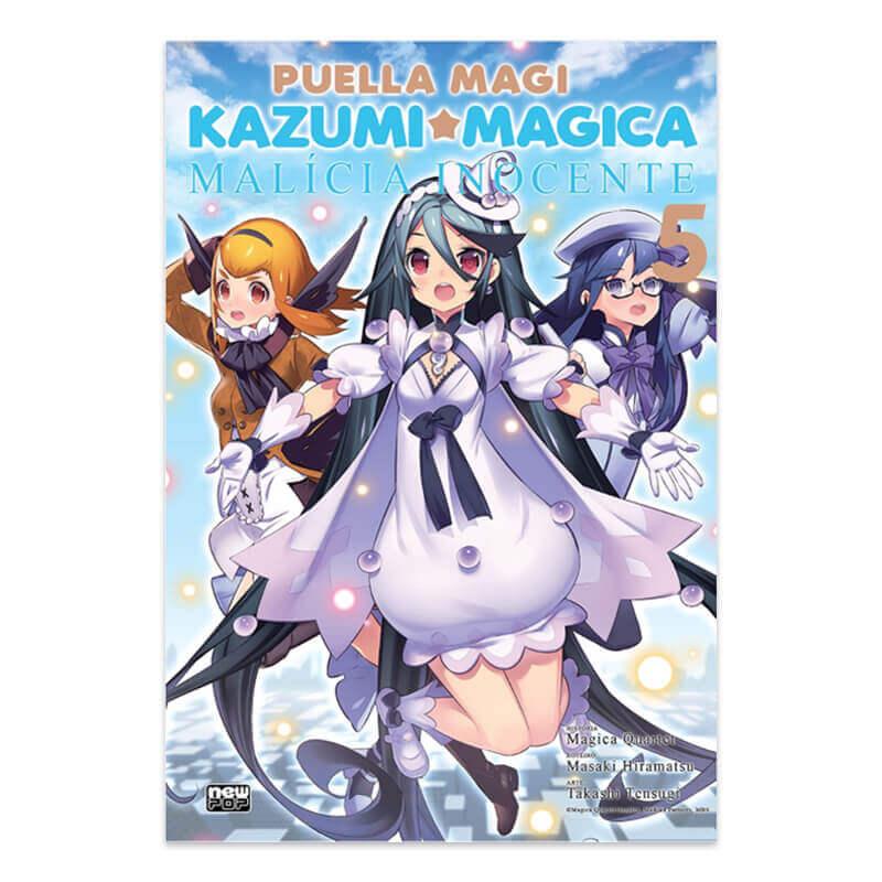 Mangá Puella Magi Kazumi Magica: Malícia Inocente - Volume 05