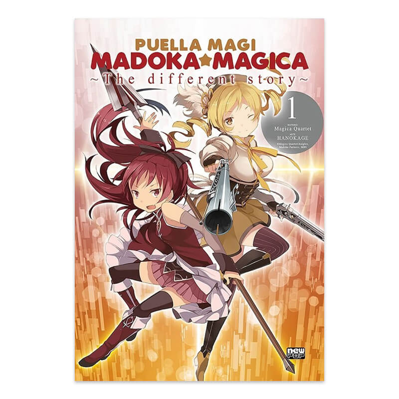 Mangá Puella Magi Madoka Magica:  The Different Story - Volume 01