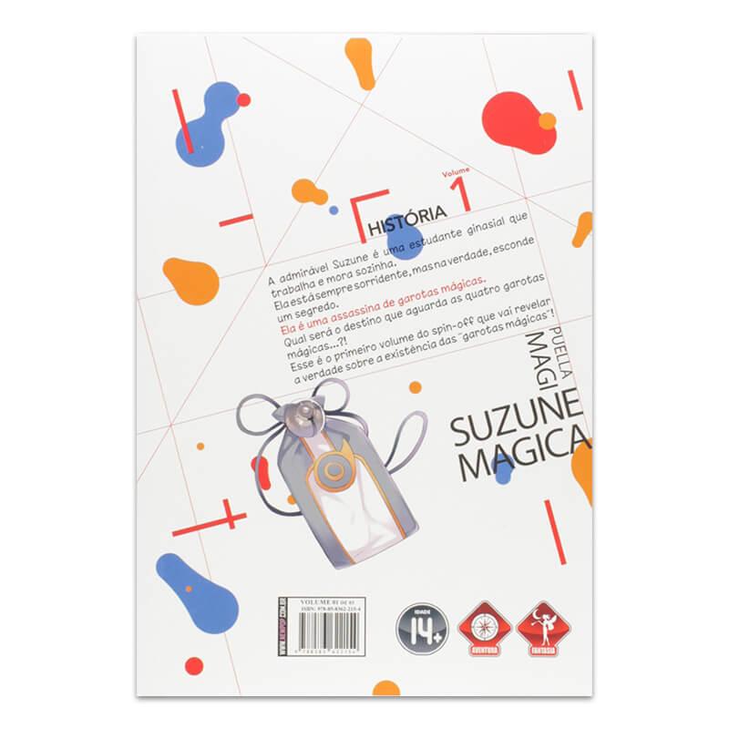 Mangá Puella Magi Suzune Magica - Volume 01