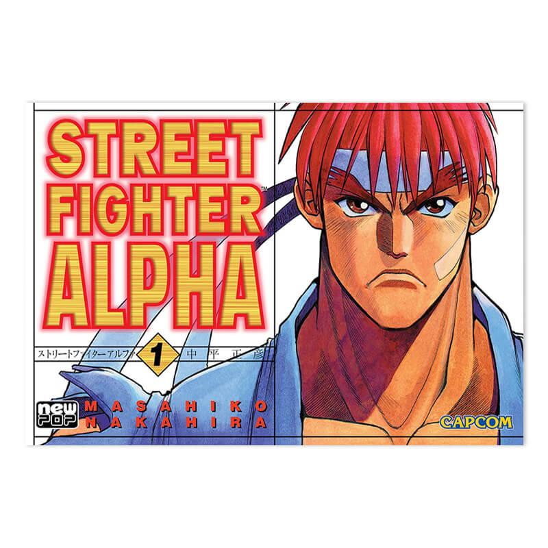 Mangá Street Fighter Alpha - Volume 01